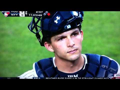 Carlos Gomez Starts Fight John Ryan Murphy Yankees Astros