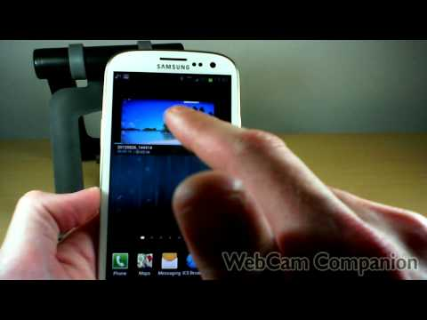 Samsung Galaxy S III Stock Widgets Demonstration & Reviews