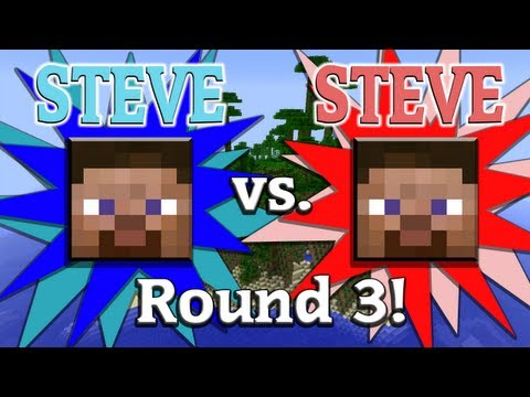 Watch Steve vs. Steve - A Minecraft Rivalry - EP03