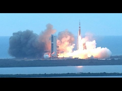 NASA's Orion spacecraft launched successfully atop a United Launch Alliance Delta IV Heavy rocket Dec. 5 at 7:05 a.m. EST from Space Launch Complex 37 at Cape Canaveral Air Force Station...