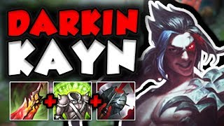 JUST HOW OP IS THIS NEW DARKIN KAYN IN TOP LANE NE