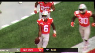 "Jameson ""Juiceman"" Williams First Career TD // Ohio State vs. Miami Touchdown from Gunnar Hoak"