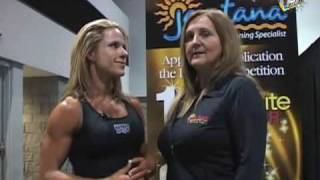 Behind The Scenes With Bodybuilding Champ Monica Brant- Part 2!