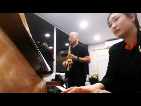 Demo Baby Sax with Pink Panther Theme