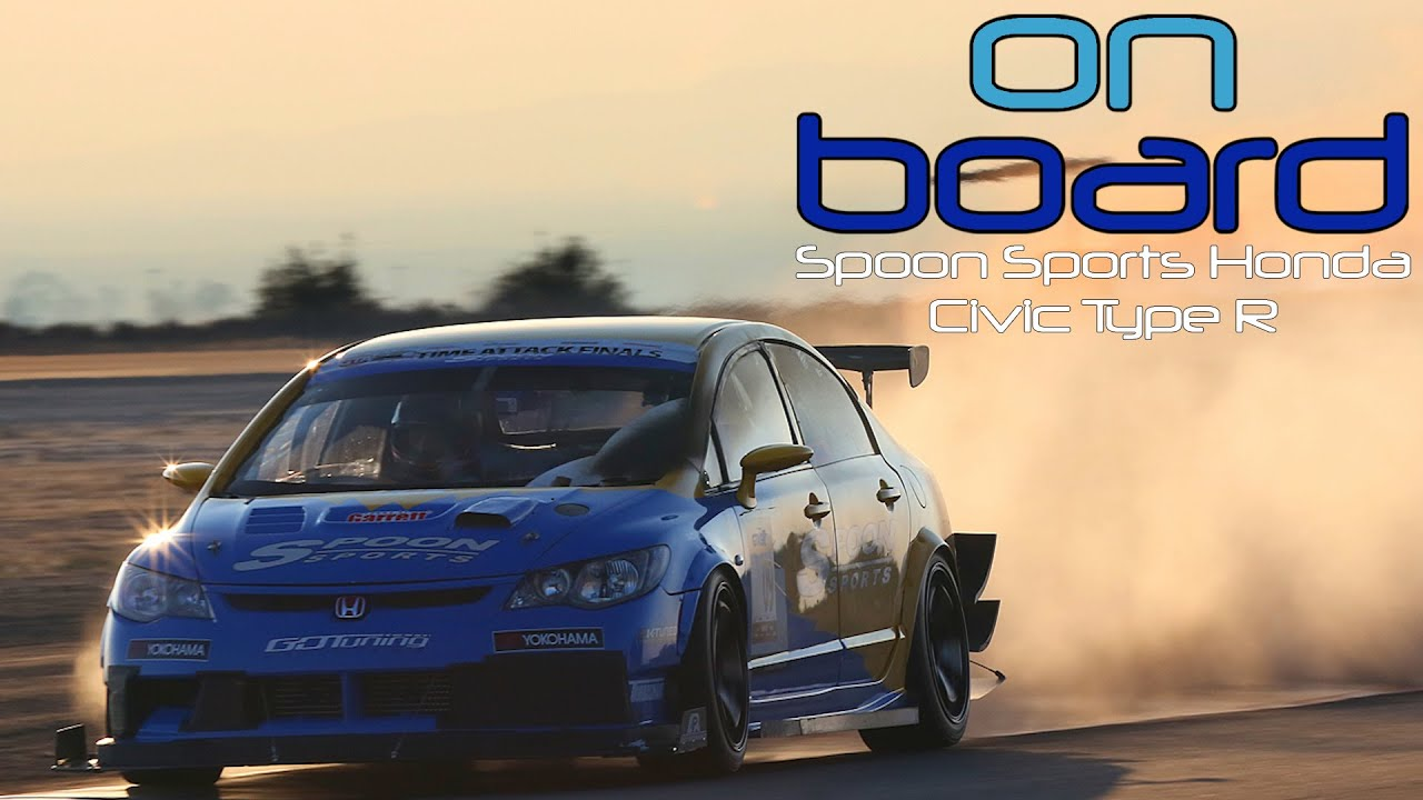 Watch Dai Yoshihara Break the FWD Course Record at Buttonwillow - On Board Eps 11