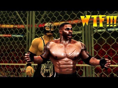 BIGGEST GLITCH CHEATER OF ALL TIME   WWE 13 Blade vs a Hacker @aubreysitterson