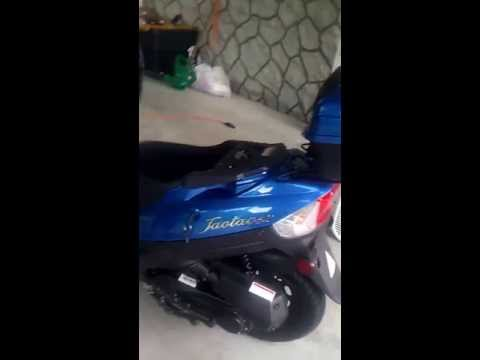 DIY performance airfilter on Taotao 50cc