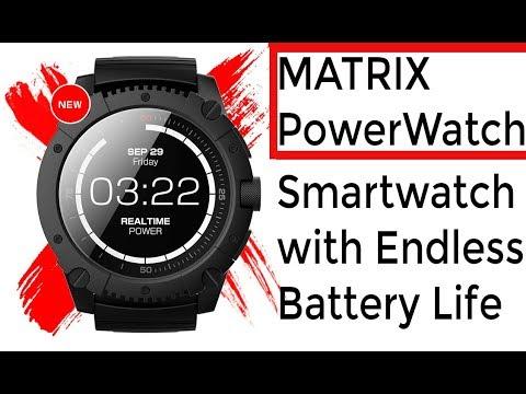 Matrix PowerWatch - Meet the World's First Smartwatch that never needs Charging the Battery