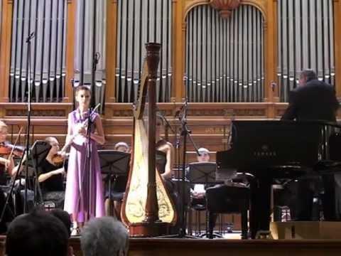 Моцарт Вольфганг Амадей - Концерт для флейты и арфы с оркестром до мажор
