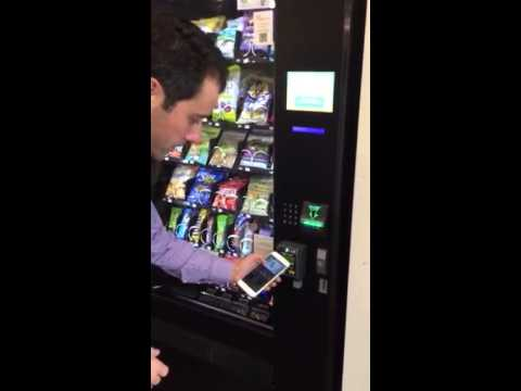 vending machine with apple pay