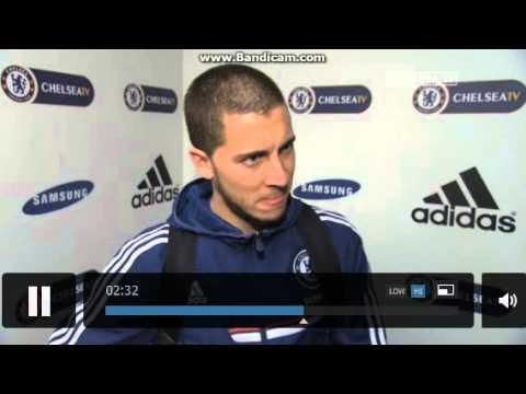 Eden Hazard interview after Newcastle match