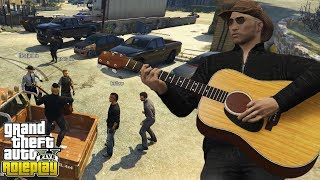ANNOYING PLAYERS WITH MY GUITAR *TROLL* | GTA 5 RP