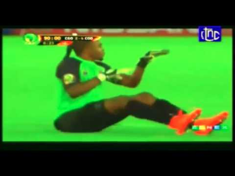 African cup of nations: Congo's funny goal celebration!