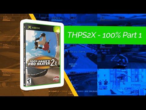 Replaying THPS2X - 100% Eric Koston - Part 1
