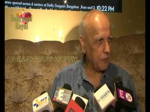 Alia, Mahesh Bhatt, Imtiaz Ali at Juhu PVR Cinema for 'Highway 2
