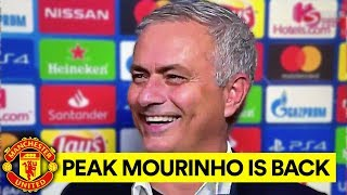 IS MOURINHO BACK TO HIS BEST AT MAN UTD?