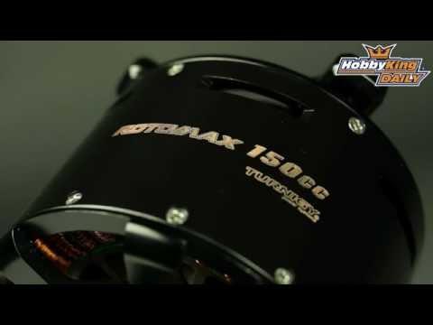 Hobbyking Daily Turnigy Rotomax 150cc Motor How To
