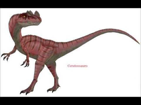 lista de dinossauros carnívoros