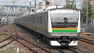 2019/07/03 1834E 普通 E233系(U218編成+U620編成)