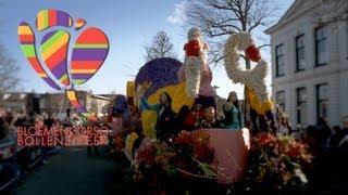 Bloemencorso Bollenstreek - (OFFICIAL Dutch Flower Parade) Jur Media Productie