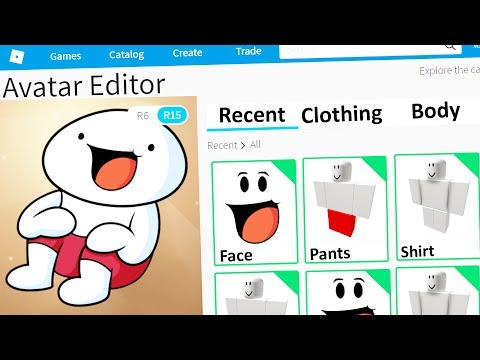MAKING THEODD1SOUT a ROBLOX ACCOUNT