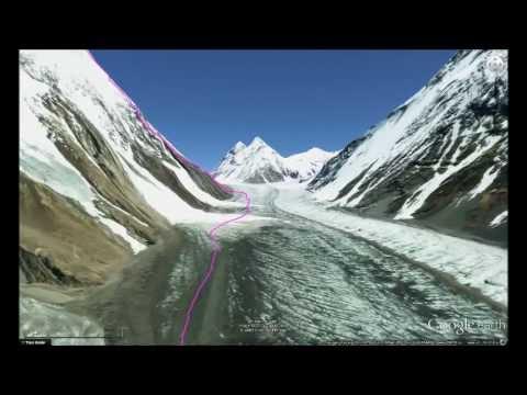K2 Mountain Vs Everest Climb K2 in 3D! - YouTube