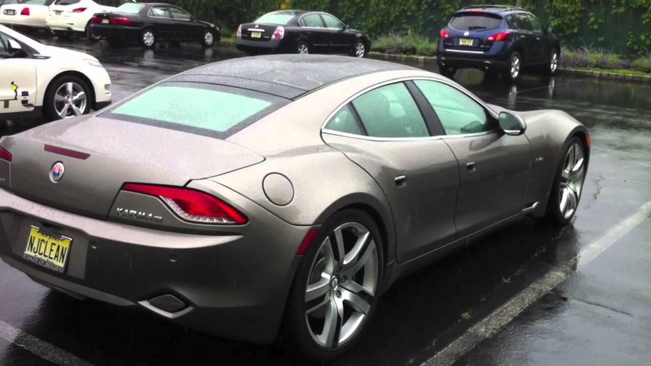 I Need A Car >> Fisker Karma EV extended range NJ electric vehicle - YouTube