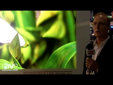 InfoComm 2015: SiliconCore Highlights Peony P2.6 LED Display