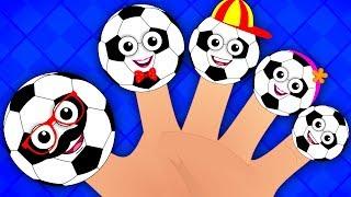 ngón tay gia đình bài hát | nhac thieu nhi | Soccer Finger Family | Kids Song