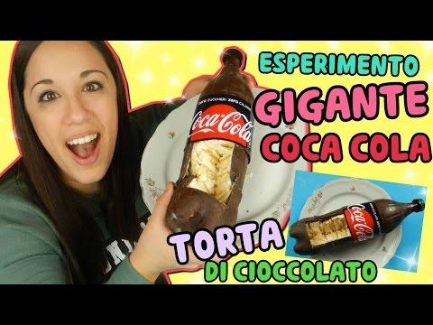ESPERIMENTO:GIGANTE COCA COLA TORTA DI CIOCCOLATO (Esperimenti Creativi) Iolanda Sweets