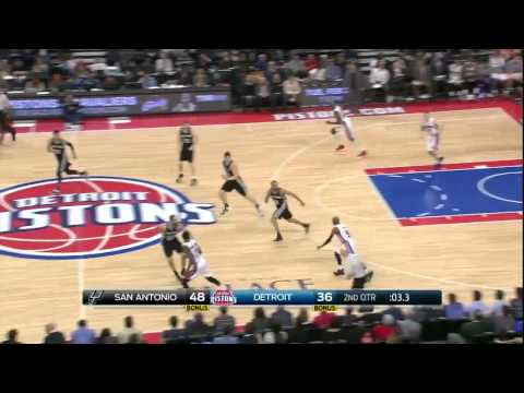 Sas Antonio Spurs vs Detroit Pistons | February 11, 2015 | NBA 2014-15 Season
