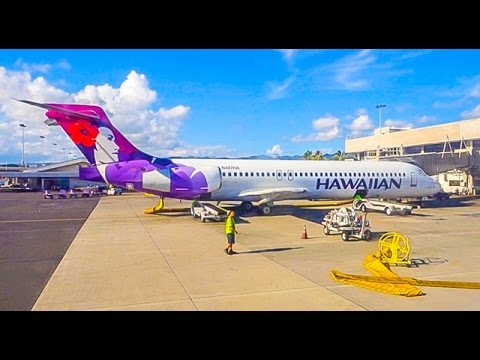 Hawaiian Airlines Boeing 717-22A  / Honolulu to Lihue
