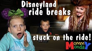 Stuck on a Disneyland Ride! || Mommy Monday
