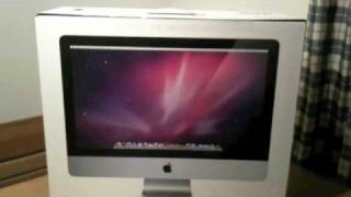 iMac 21.5 UNBOXING- finding a box of chocolates inside_-)