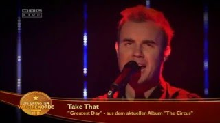Take That - Guinness World Records - Greatest Day 20.12.2008