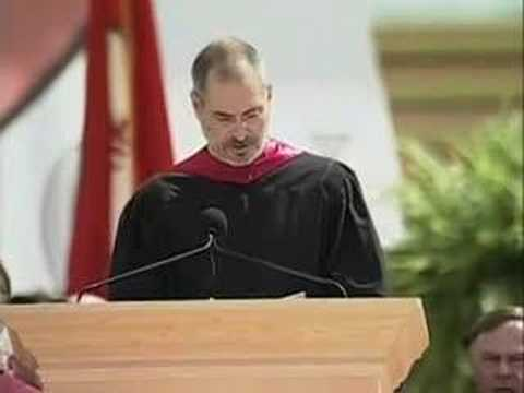 Thumbnail of video Steve Jobs' 2005 Stanford Commencement Address