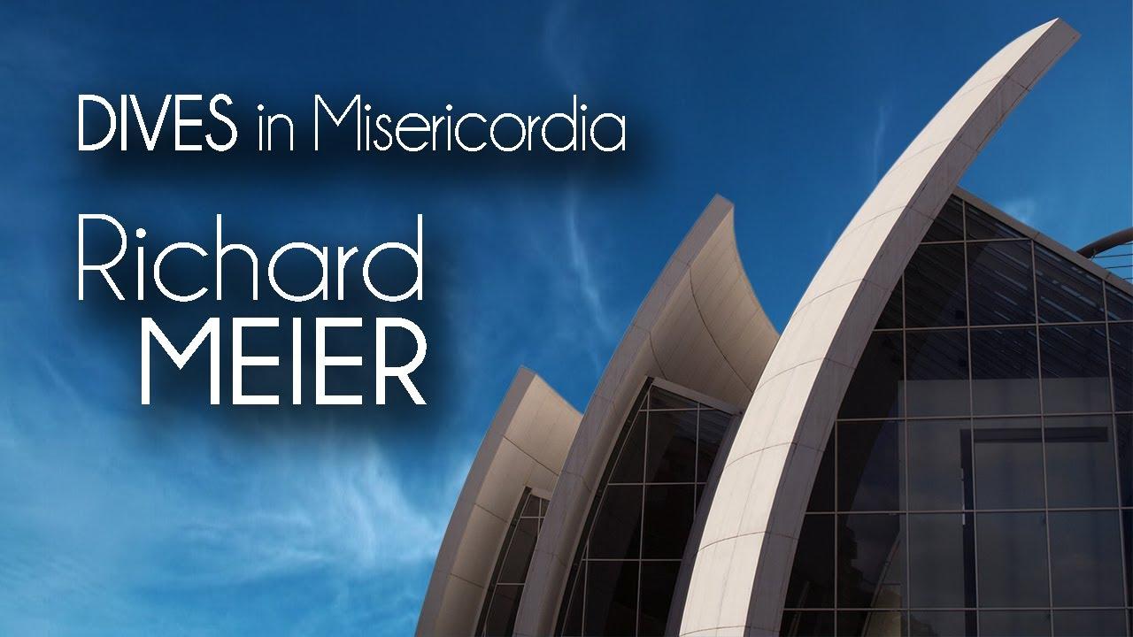 Richard meier dives in misericordia youtube for Richard meier architetto