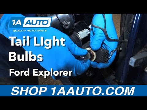 How to Replace Install Tail Light Bulbs 06 Ford Explorer Buy Quality Auto Parts from 1AAuto.com
