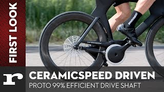 CeramicSpeed Driven chainless drivetrain is 99% efficient