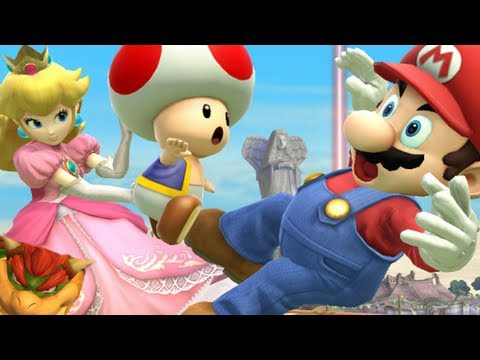 Super Smash Bros 4 Characters: Princess Peach Trailer (WII U / 3DS Gameplay Screenshots) 【All HD】
