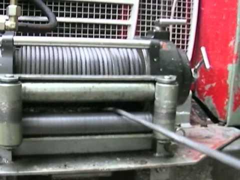 Seilwinde an Geländewagen - Nebenantrieb (PTO)