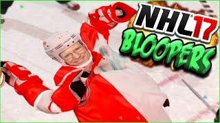 NHL 17 Funny Bloopers! Doc Tells a Joke, Crushing Goalies & Weird Glitches!