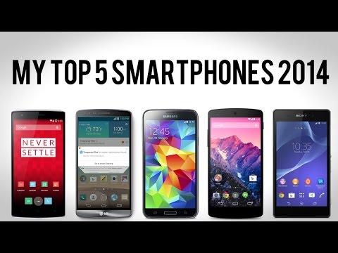 My Top 5 Smartphones for 2014