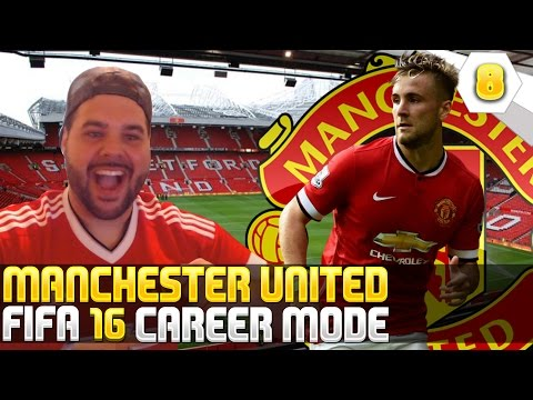 Luke Shaw Is Disappointed And Unhappy! - Fifa 16 Manchester United Career Mode