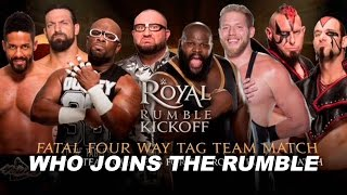 WWE Royal Rumble Live Results: KickOff Show Fatal 4 Way For To Qualify For The Royal Rumble