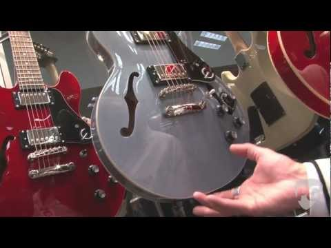 NAMM '12 - Epiphone ES-339 Pro, Les Paul Ultra-III, Ace Frehley Les Paul, Prophecy Les Paul Custom