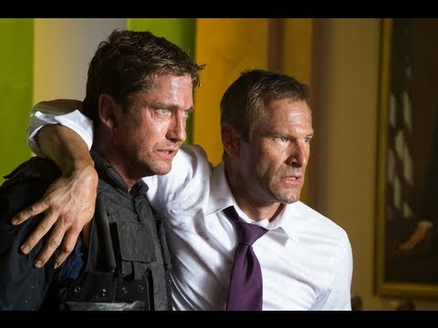 Olympus Has Fallen stars Gerard Butler and Aaron Eckhart interview