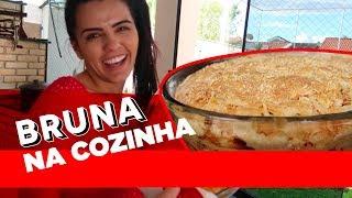 RECEITA DE TORTA DE FRANGO SUPER FÁCIL #BRUNACOZINHA