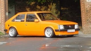 OPEL KADET SUPER TUNING CAR RETRO !!!! ТЮНИНГ ПО-НЕМЕЦКИ!!!!!!!!!!!!!!