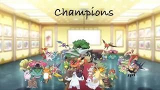 My pokemon team generations 1-6